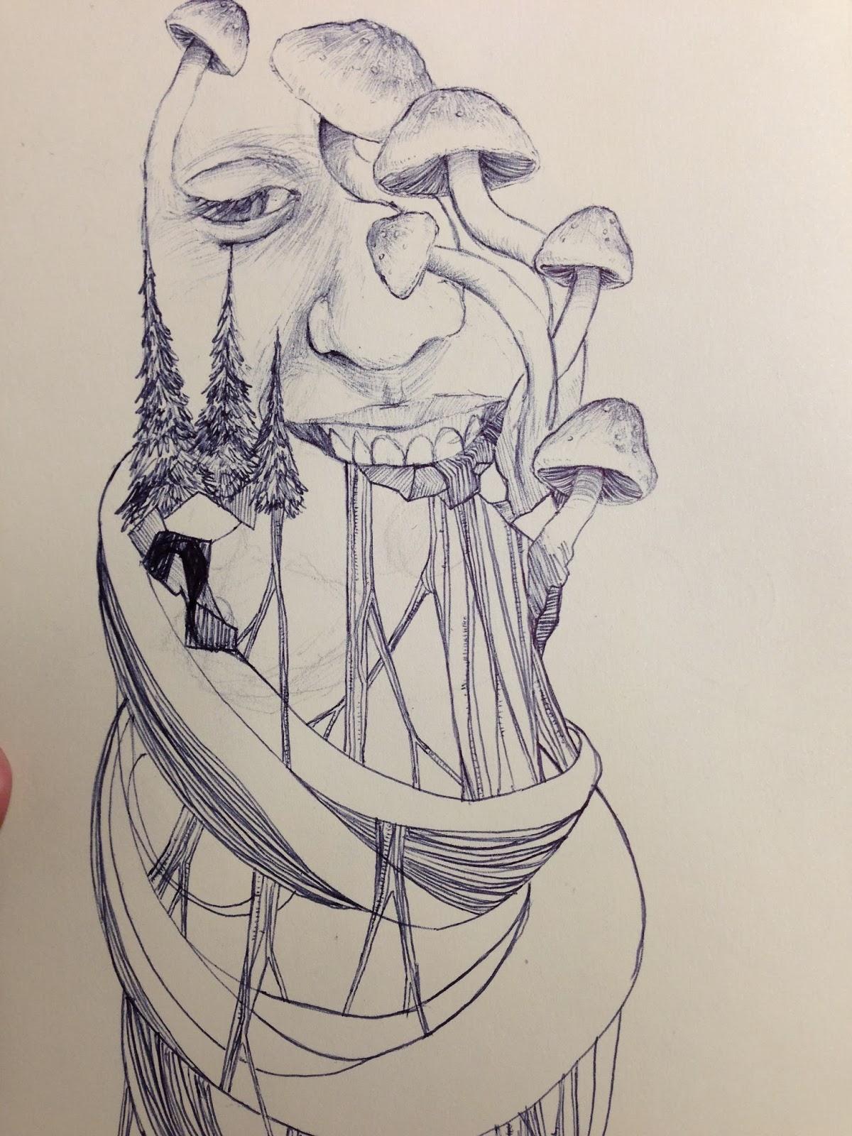 The arts of jared alvarado november 2013 for Modern drawing styles