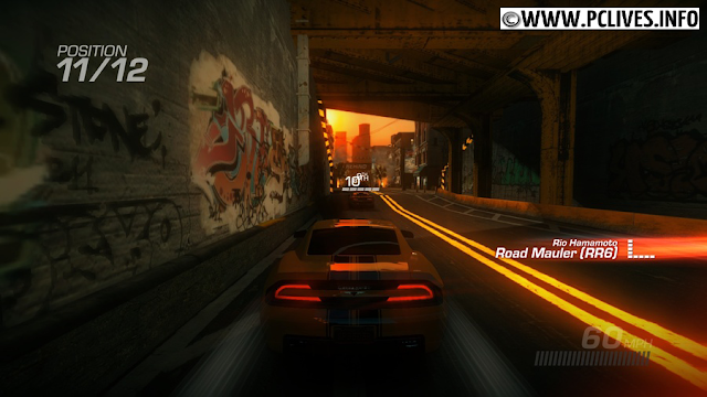 Ridge Racer Unbounded 2012 speed