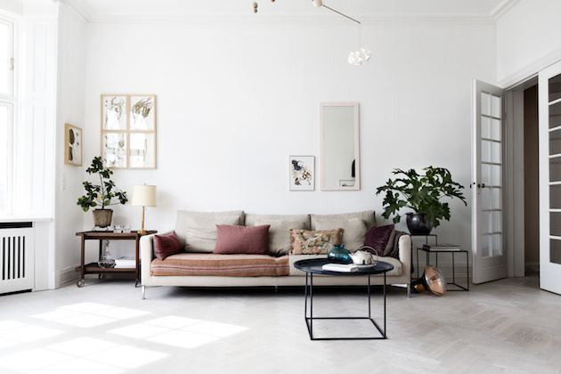 ... tactility and details using natural materials, handmade furniture and  sensuous textures. Her own Danish home is testimony to this. Let's take a  peek.