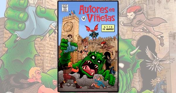 """6ª edición de """"Autores en Viñetas"""""""