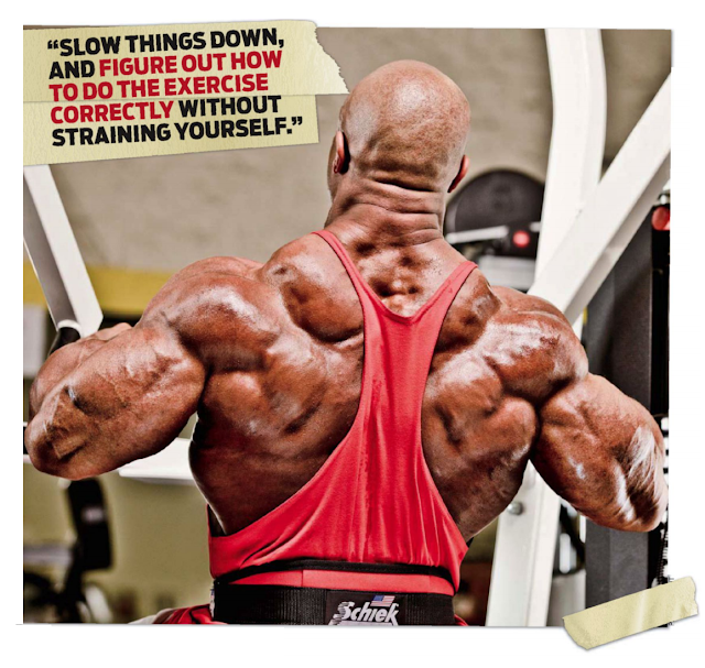 Phil Heath Back