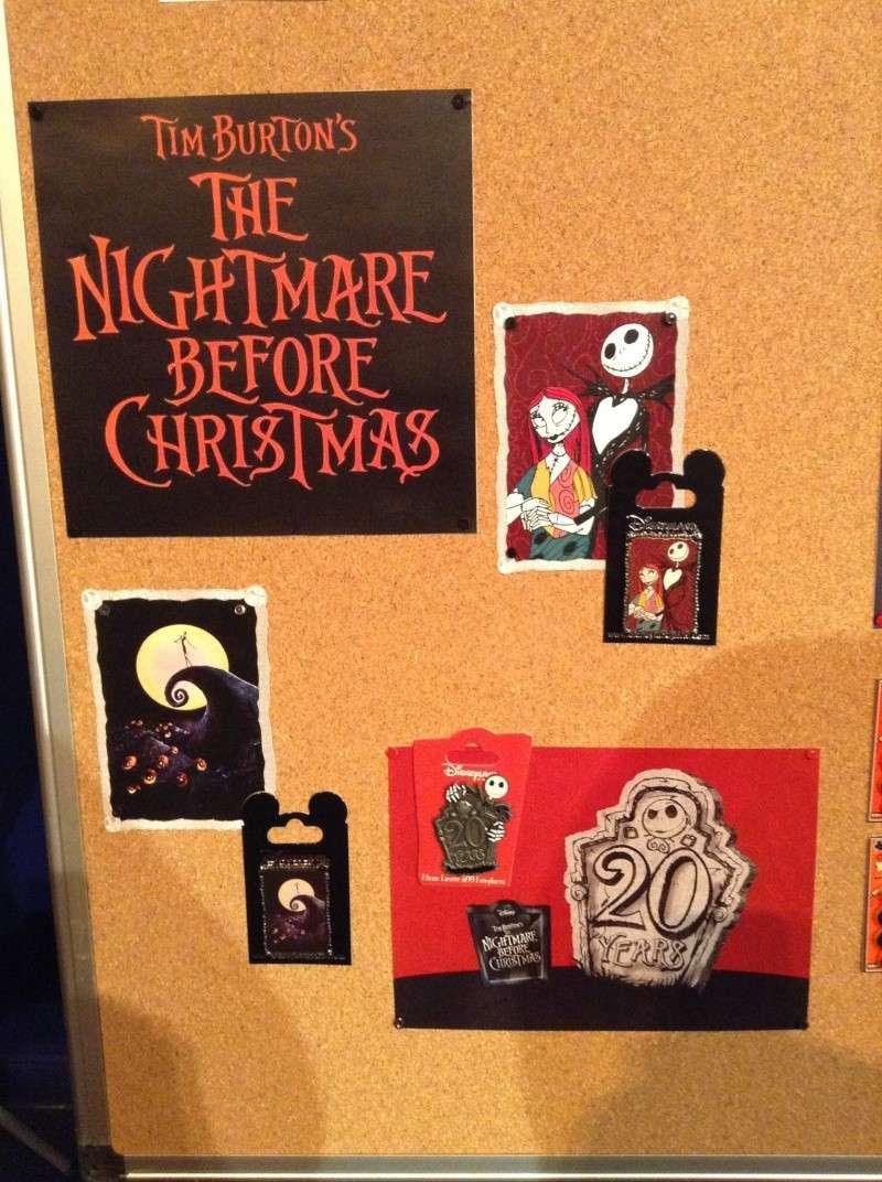 Nightmare before christmas pin