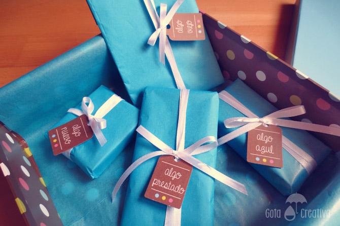 kit de la novia afortunada Gota Creativa