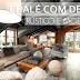 Chalé rústico e moderno maravilhoso - confira todos os detalhes e ambientes!