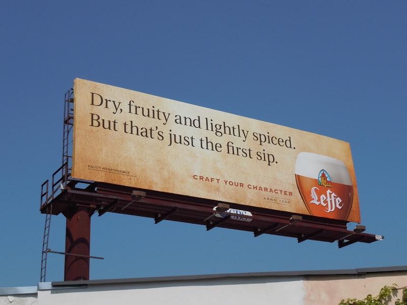 Leffe Beer billboard