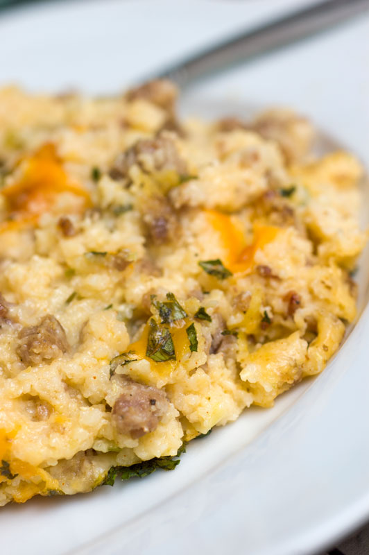 recipe on food52 in the storm green chili cheesy grits grits casserole ...