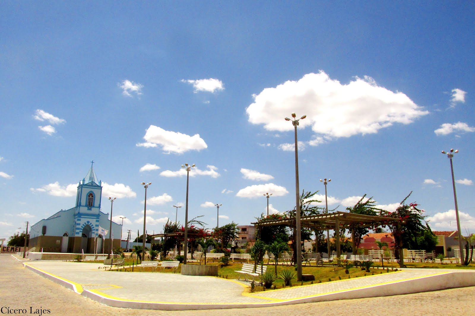 Igreja de Lajes e Praça da Matriz