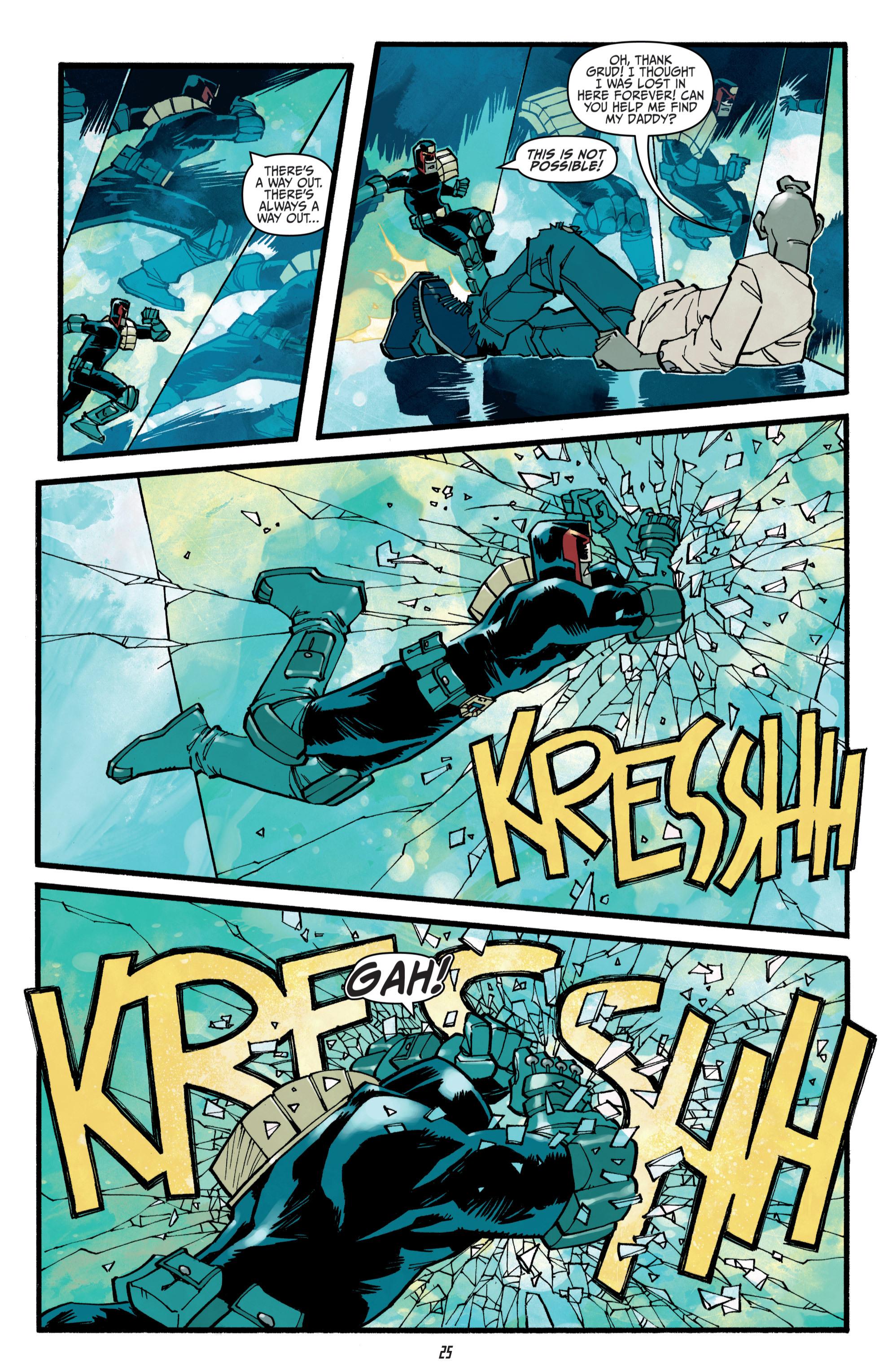 Read online Judge Dredd (2012) comic -  Issue # _TPB 3 - 25