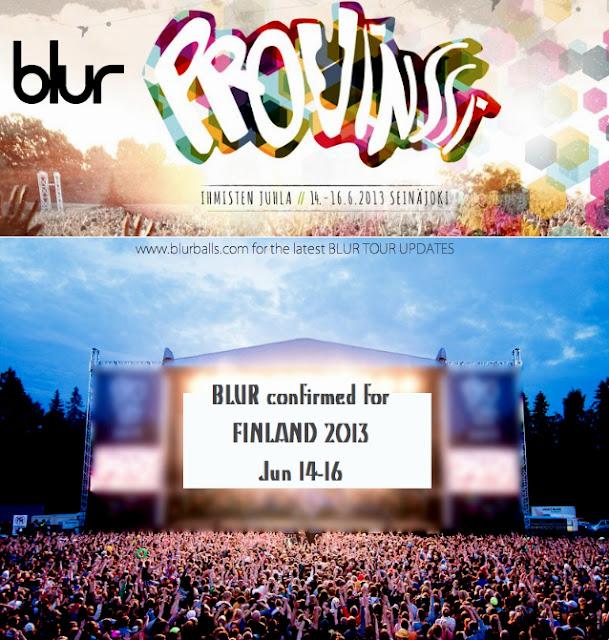 blur provinssirock festival 2013, blur finland 2013, provinssirock 2013 blur lineup, blur finland gig 2013, provinssirock lineup 2013