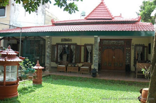 Contoh Desain Rumah Etnik Jawa