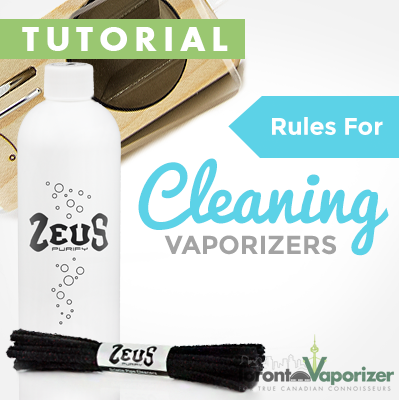 Rules for Cleaning Vaporizers