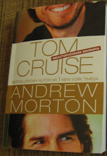 okładka ksiażki Tom Cruise nieautoryzowana biografia