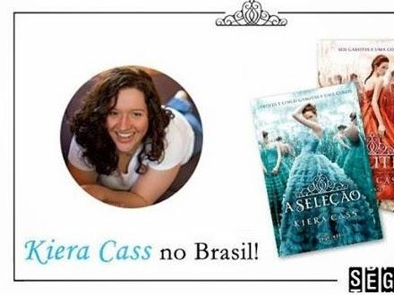 [Atualizado] Editora Seguinte transmite bate-papo on-line com a Kiera Cass!