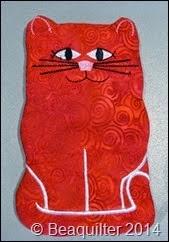 Kitty Eyeglass case