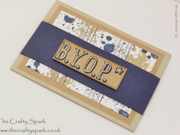 Gift Card/Money Holder - B.Y.O.P