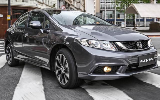 Honda Civic - recall Brasil