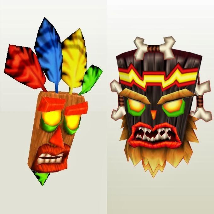 Crash Bandicoot Evil Crash Crash Bandicoot Papercraft
