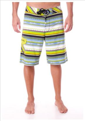 Image from ZALORA PH website: MAUI & SONS Tribal Fins 4-way Stretch Boardshort