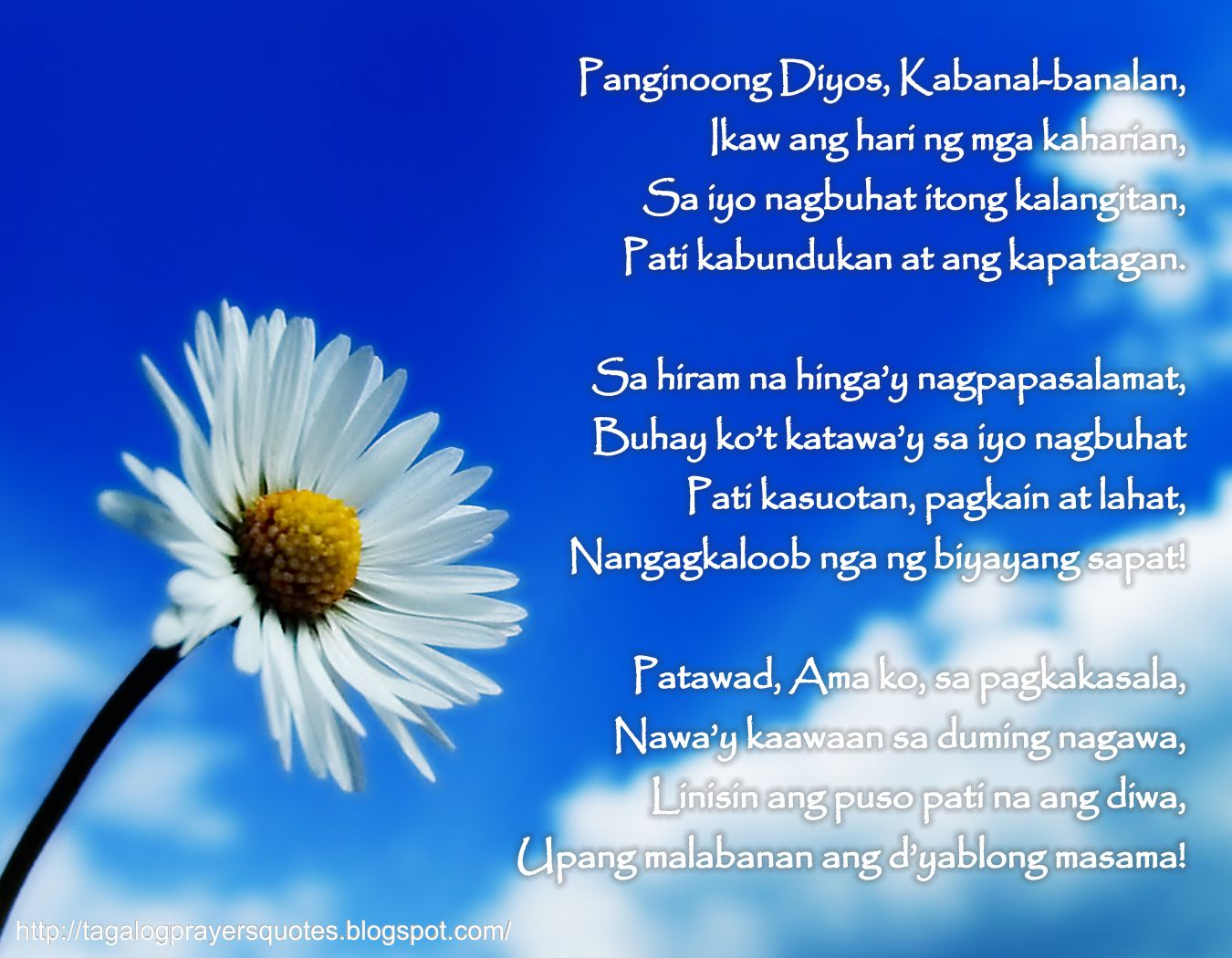 Quotes Tagalog About Friendship Tagalog Prayers And Christian Quotes Tagalog Prayer Poem