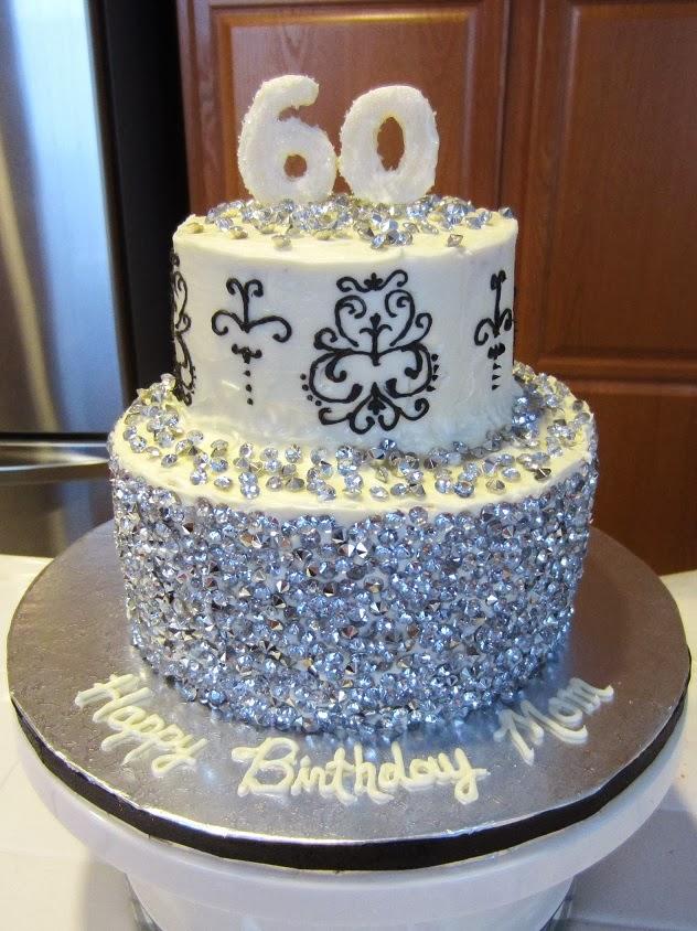 Cool Calm And Creative Diamond Diva Cake