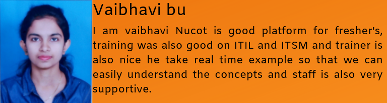 Vaibhavi bu- Testimonial / Review About Nucot