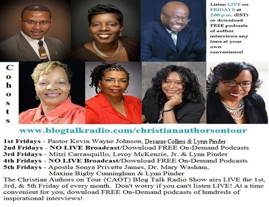 The Christian Authors on Tour (CAOT) Blog Talk Radio Show