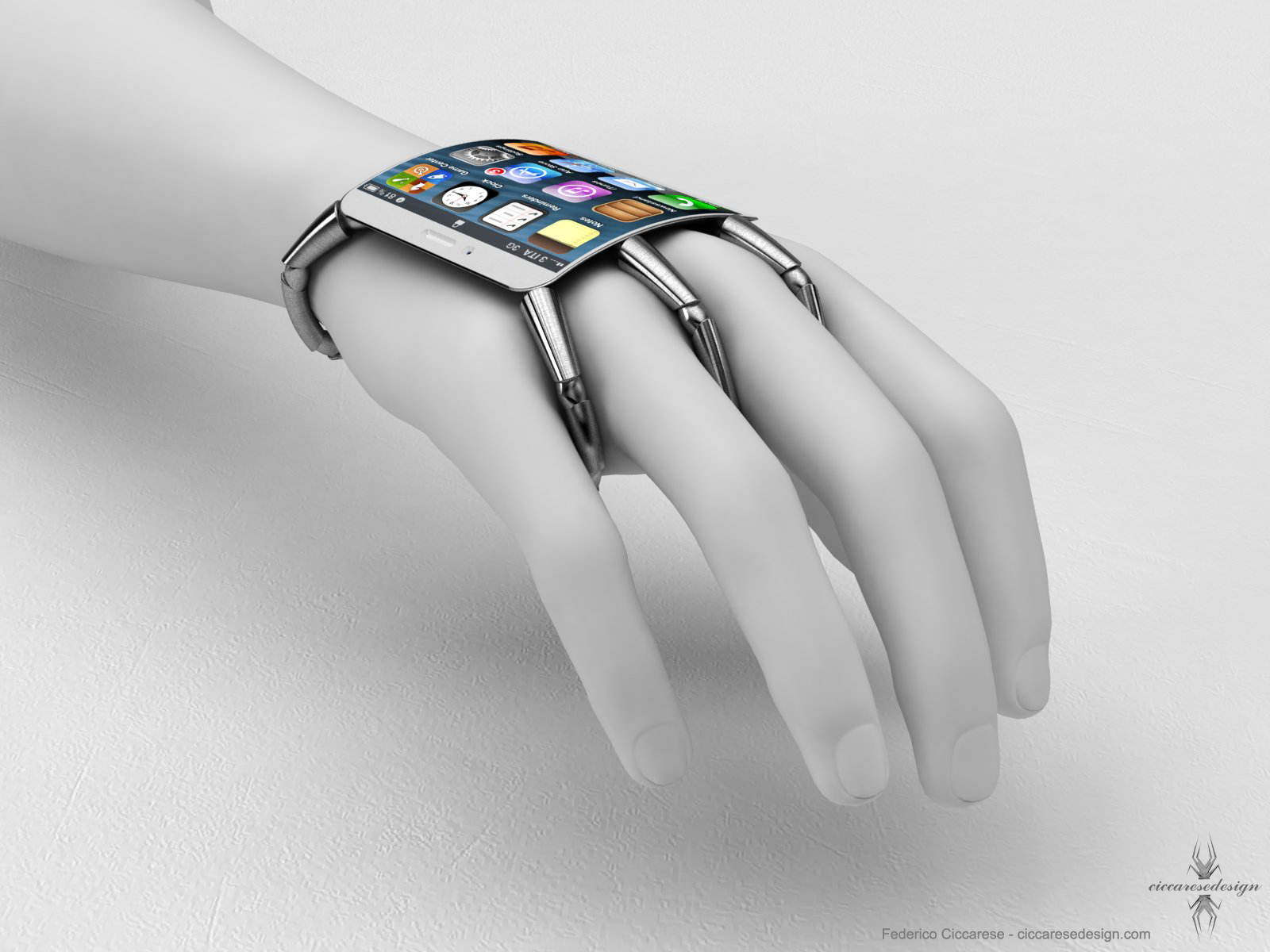 Wearable Iphone 5 With Curved Glass Apple ConceptIphone 100000000000000000000000000000000000000000000000000000000000000000000000000000