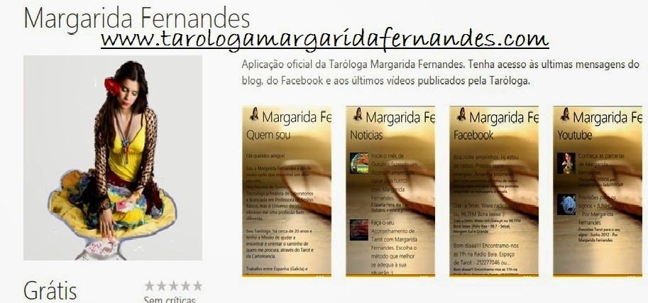 Descarregue a APP Oficial da Margarida Fernandes