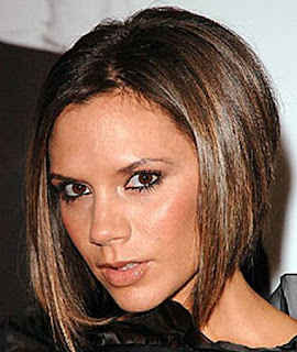 Celebrity Victoria Beckham Hairstyle Haircut Trends for Girls
