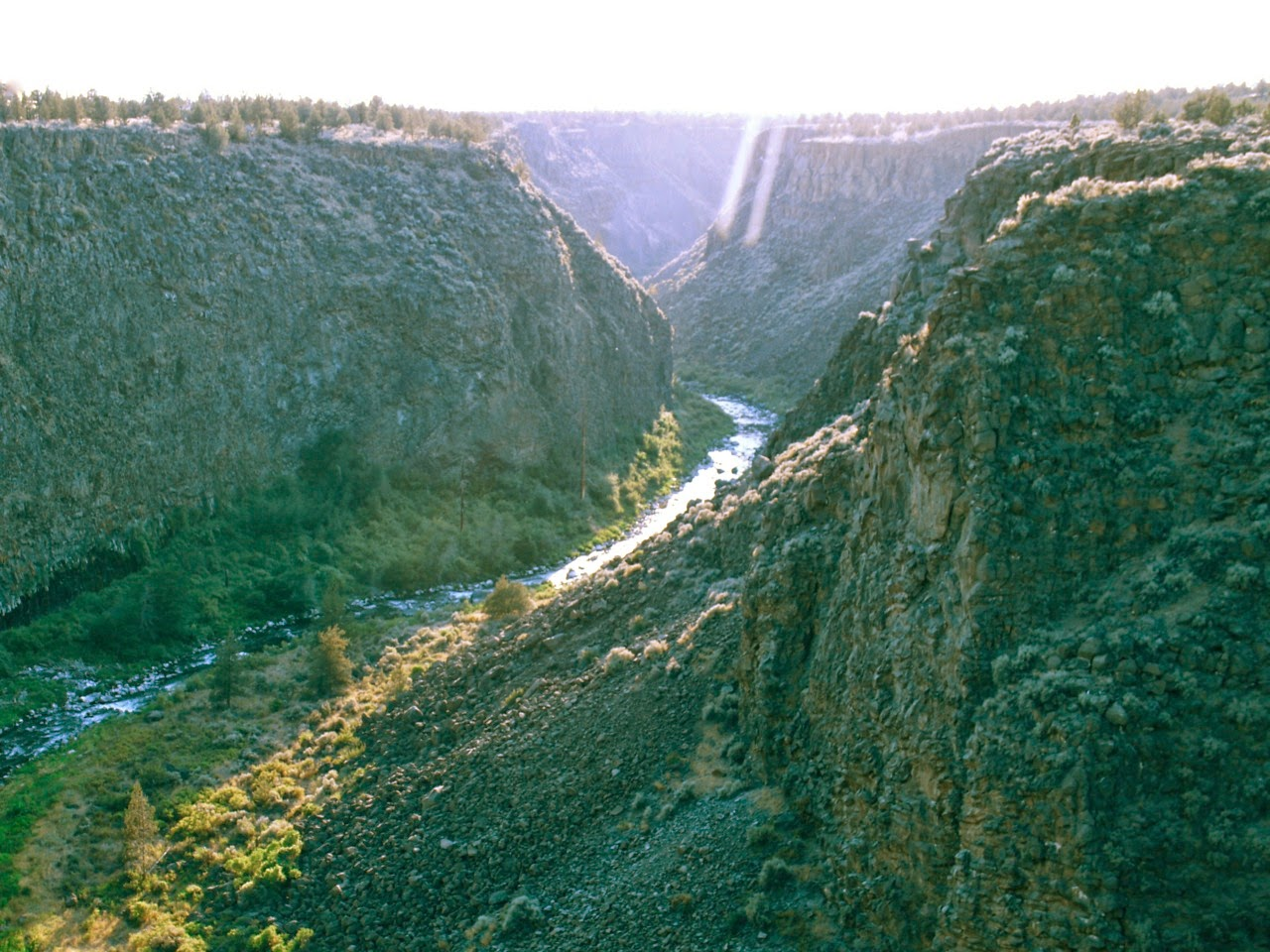 Crooked River Gorge, Eastern Oregon, Redmond, Madras, Terrebone,