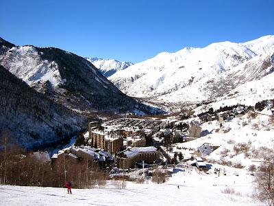 station de skis Baqueira Beret (Val d'Aran)