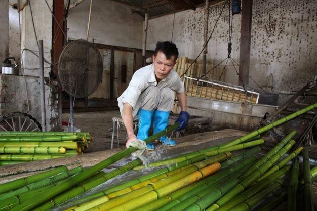 Chiếu trúc Cao Bằng: hàng Việt chất lượng cao (1)