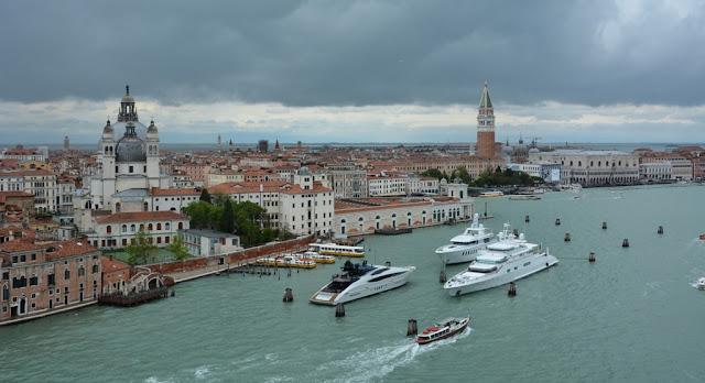 Cruising into Venice San Marco