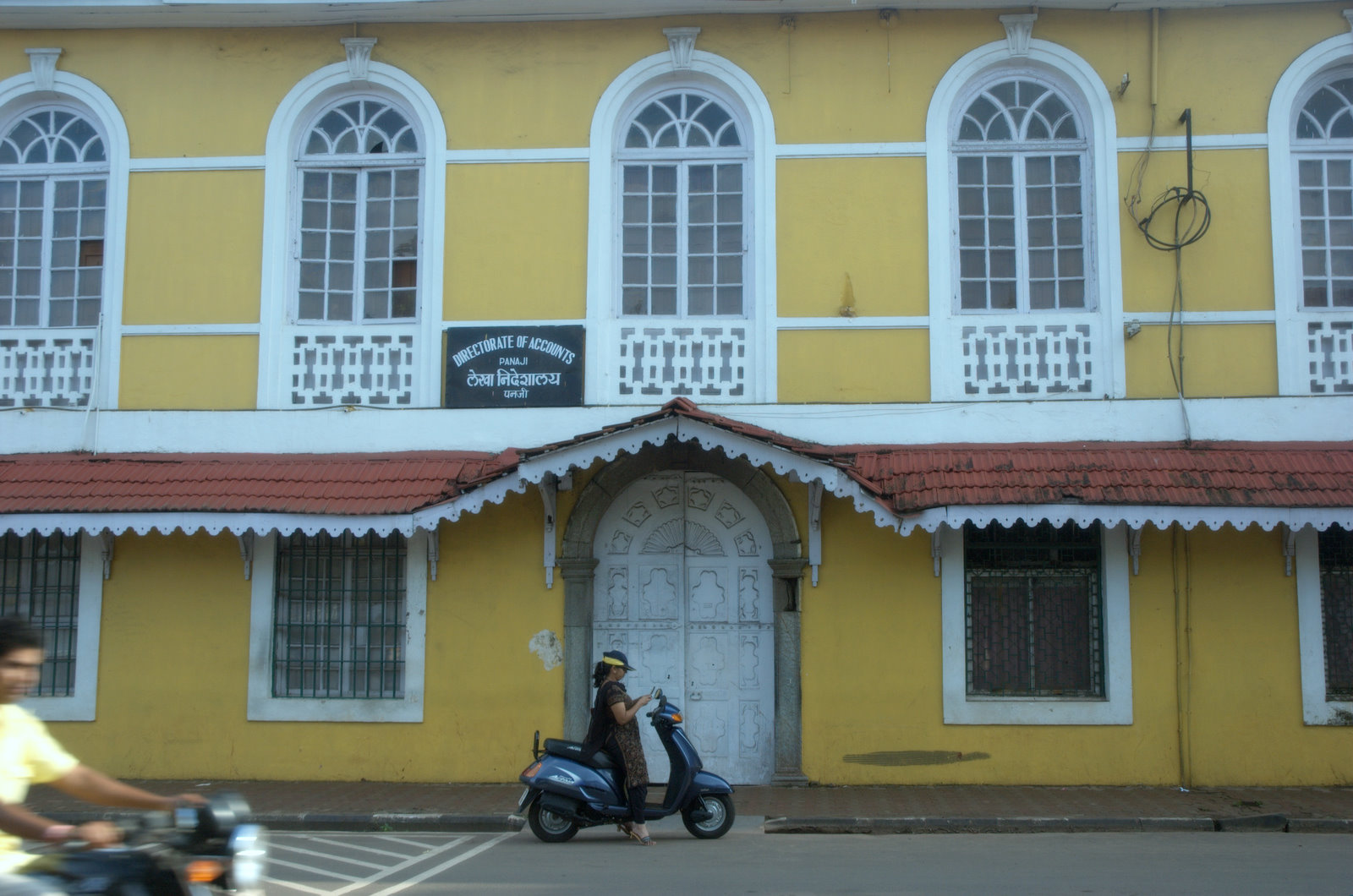 Fontainhas Is An Old Latin Quarter In The City Of Panaji
