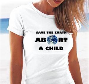 Salva el Planeta: Aborta un niño
