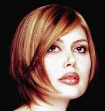 bulat pada wajah beberapa contoh model rambut pendek untuk wajah bulat