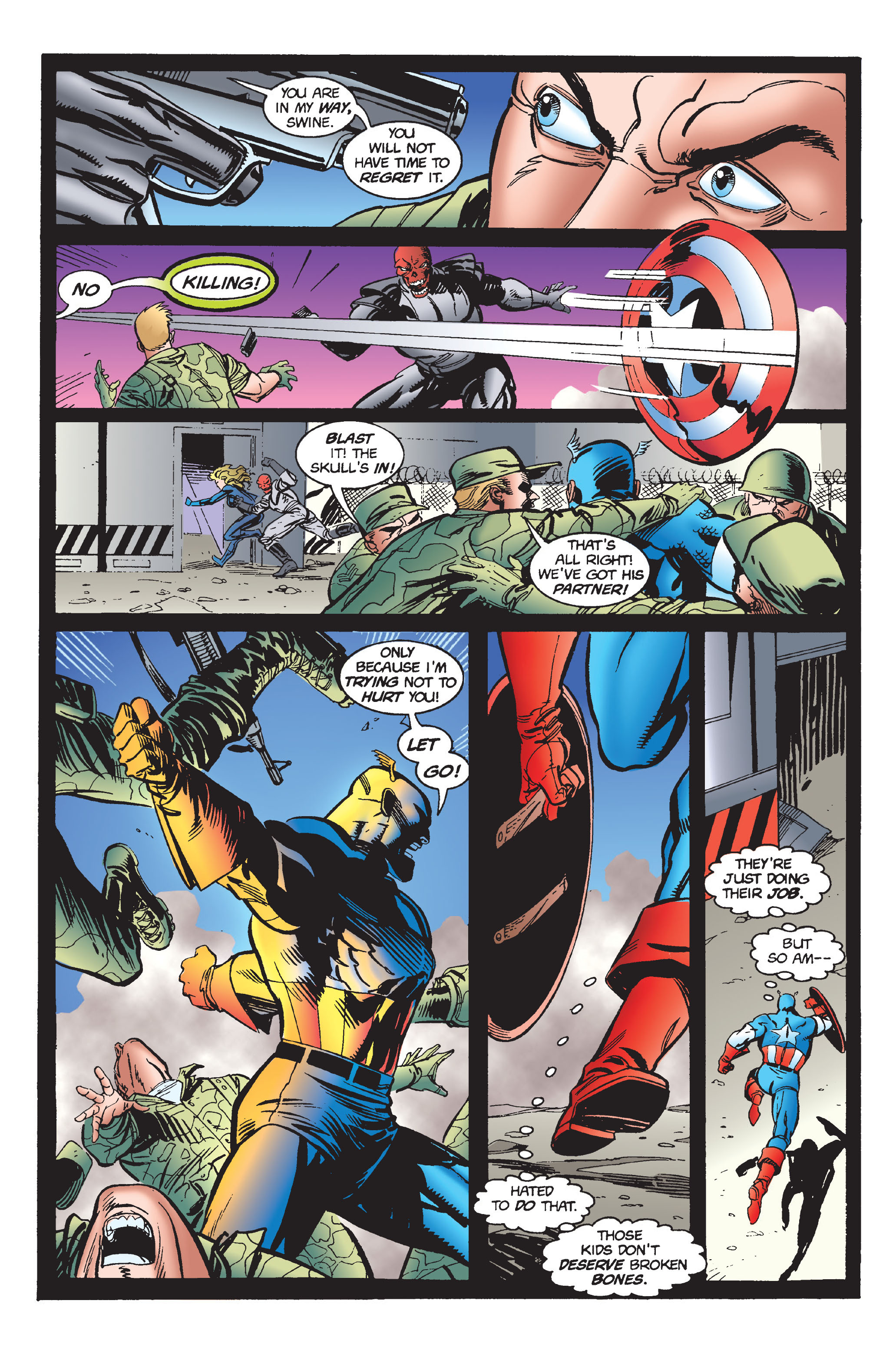 Captain America (1968) Issue #446 #400 - English 18