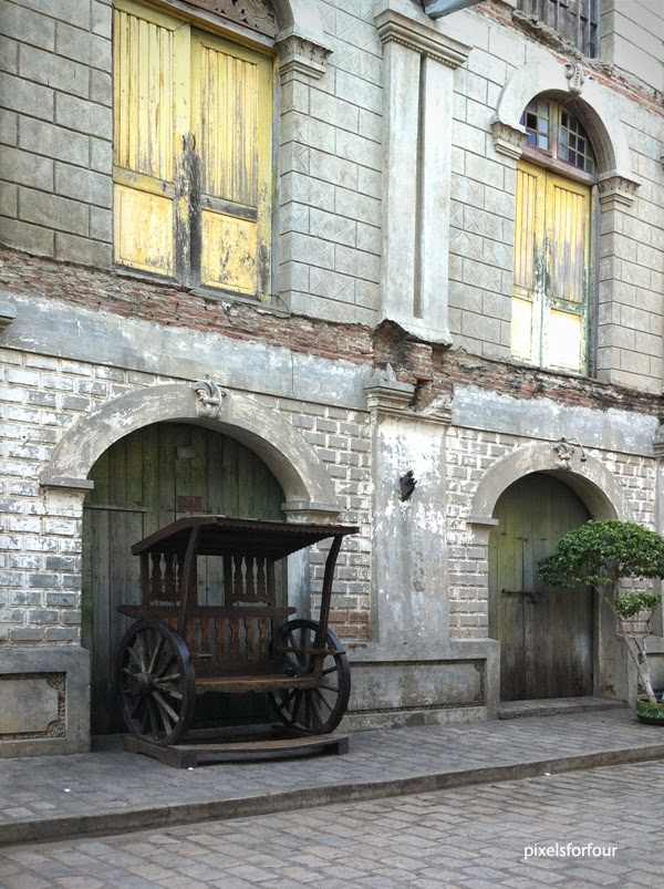 Pixels for four heritage houses in vigan ilocos sur
