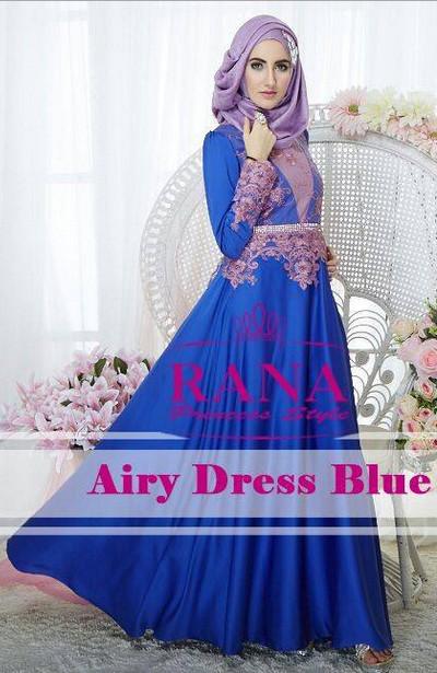 60 Contoh Baju Gamis Muslim Brokat Trend Terbaru Limited