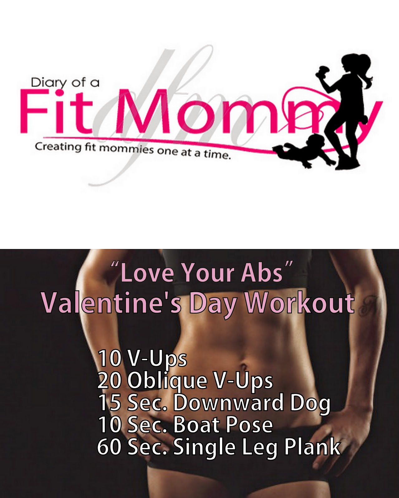 Love Your Abs Valentines Day Workout