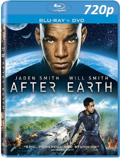 cover de la pelicula 720p after earth 2013