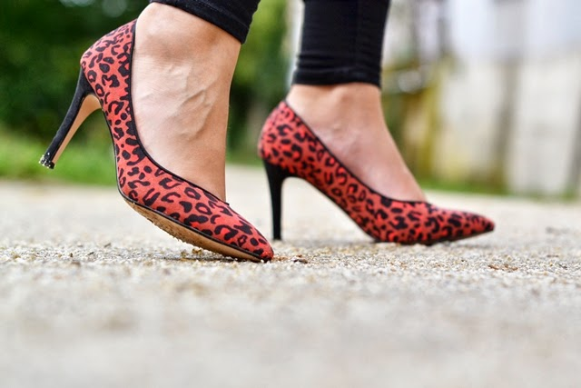 stilettos leopardo lefties