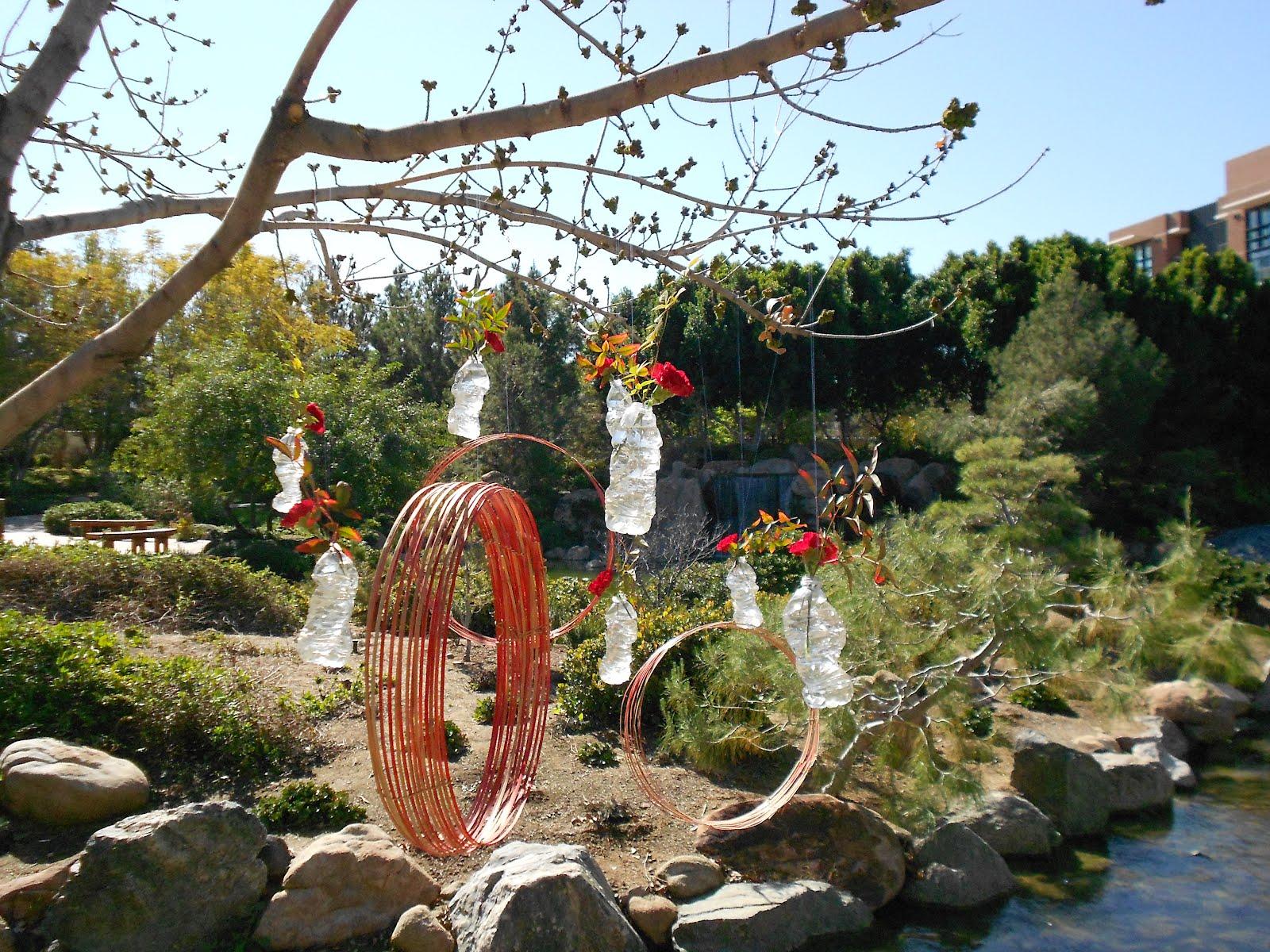 Ikebana in desert ikebana in japanese friendship garden for Japanese friendship garden