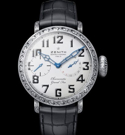 BaselWorld 2014 Zenith 60mm Limited 10 pcs No.8/10 on Sale 1.3M