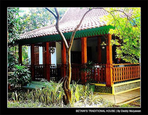 Rumah Adat Tradisional : Rumah kebaya