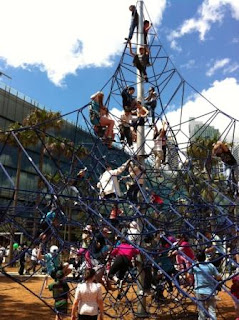 Darling Quarter - Spider Net