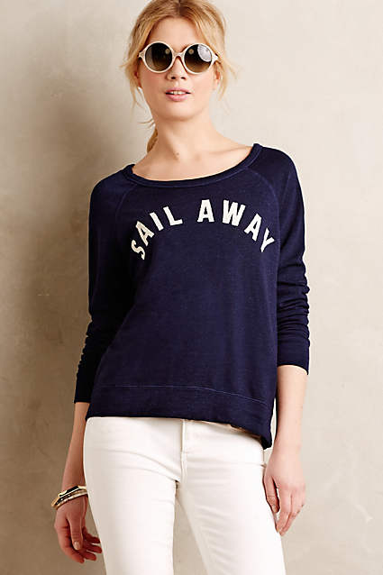 sail away pullover anthropologie on sale