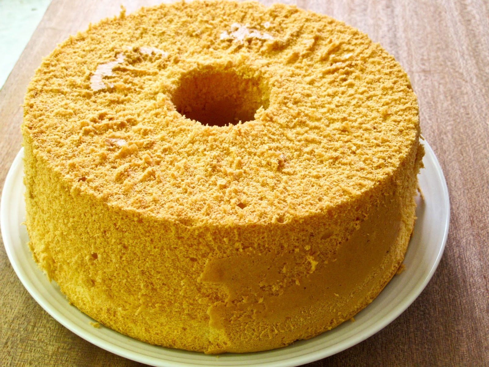 Simple Menu: Lemon Chiffon Cake