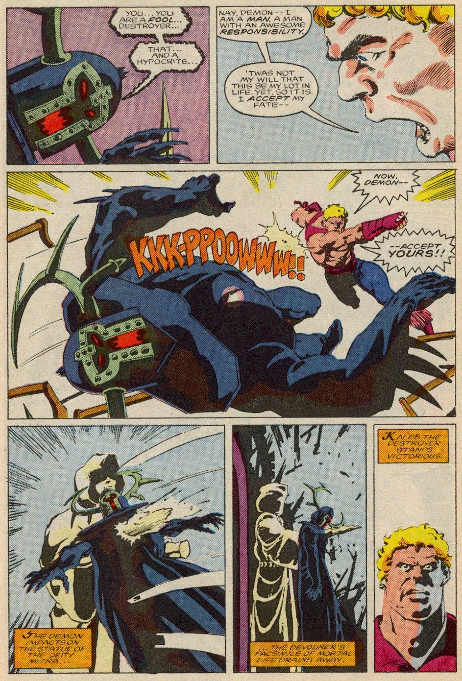 Conan the Barbarian (1970) Issue #194 #206 - English 22