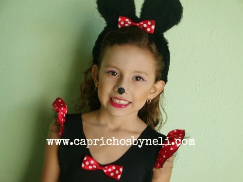 Fantasia Minnie, Carnaval, Maquiagem Minnie